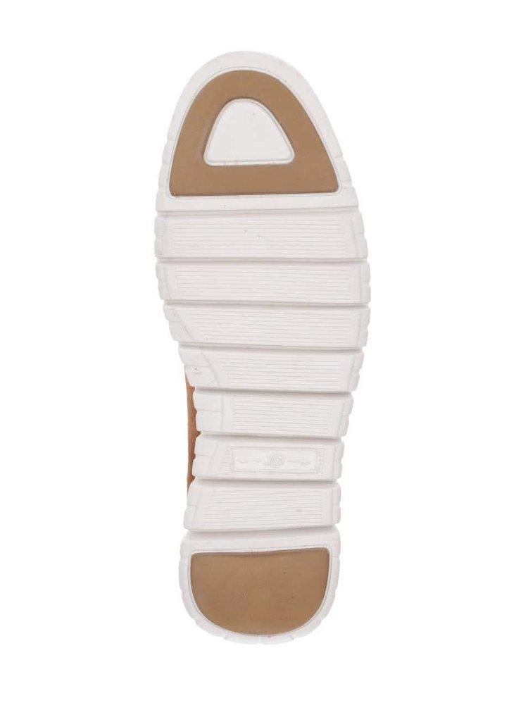 Světle hnědé semišové  kotníkové boty London Brogues Gatz Hi