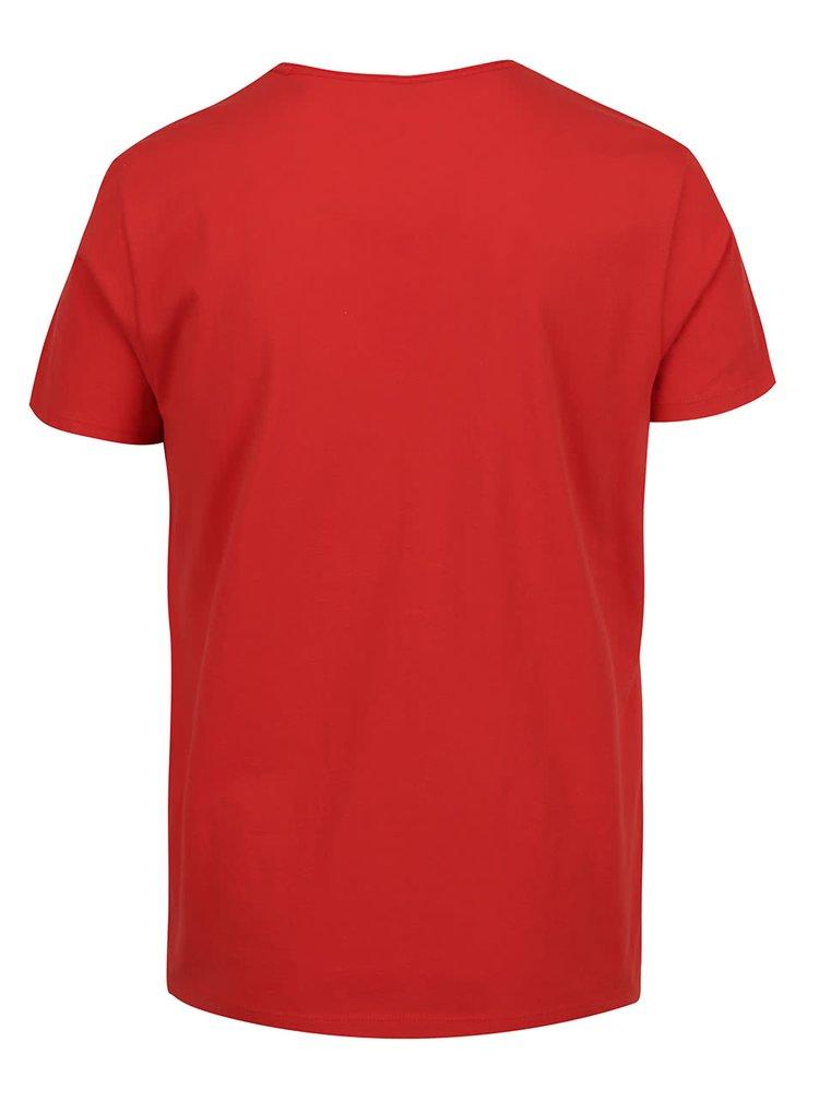 Tricou rosu s.Oliver din bumbac