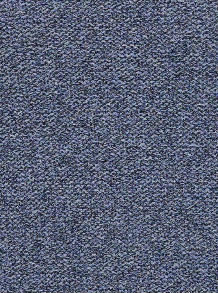 Pulover albastru deschis melanj s.Oliver din bumbac