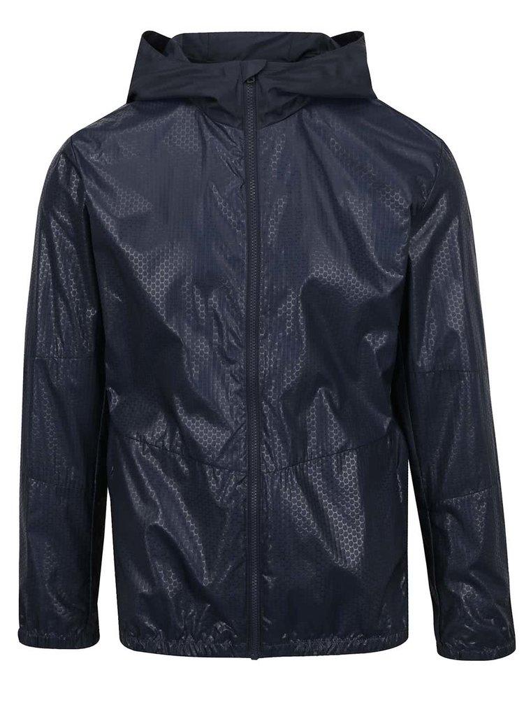 Jachetă albastru închis Jack & Jones Lax cu glugă