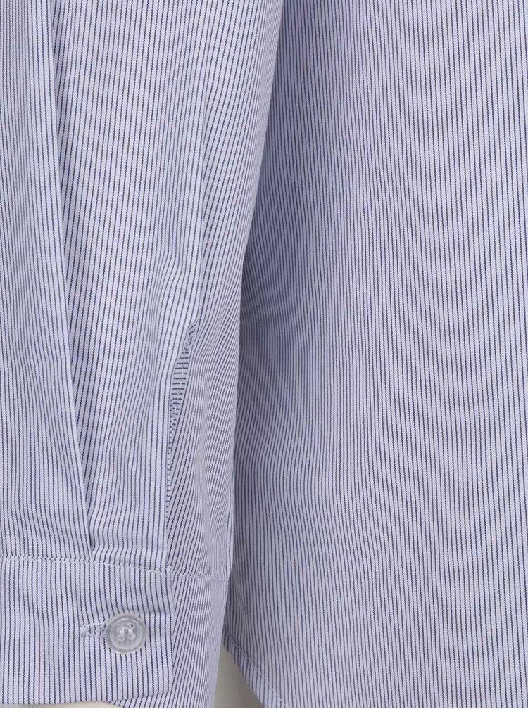 Modrá pruhovaná volná košile ZOOT