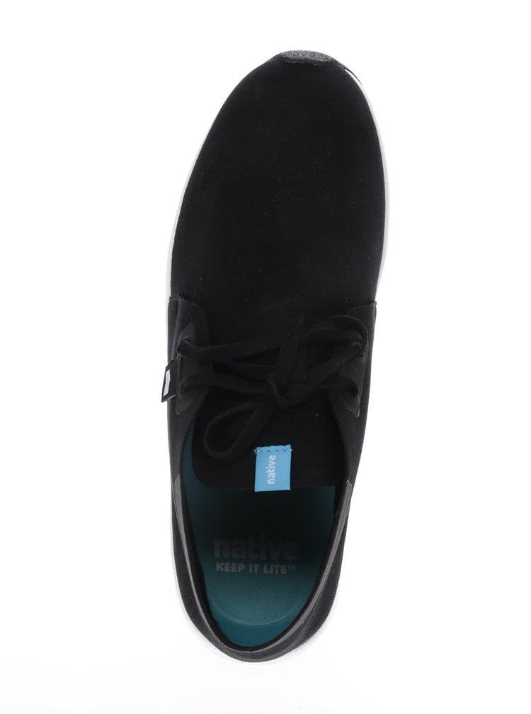 Černé pánské kotníkové lehké boty Native