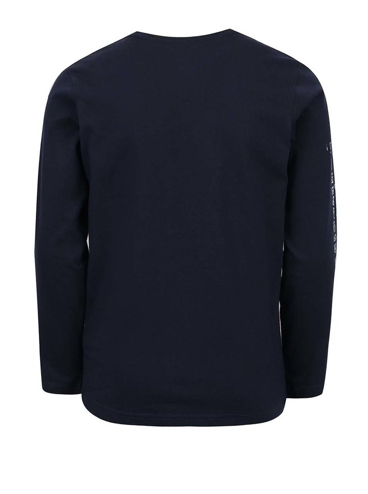 Bluza bleumarin Quiksilver cu print