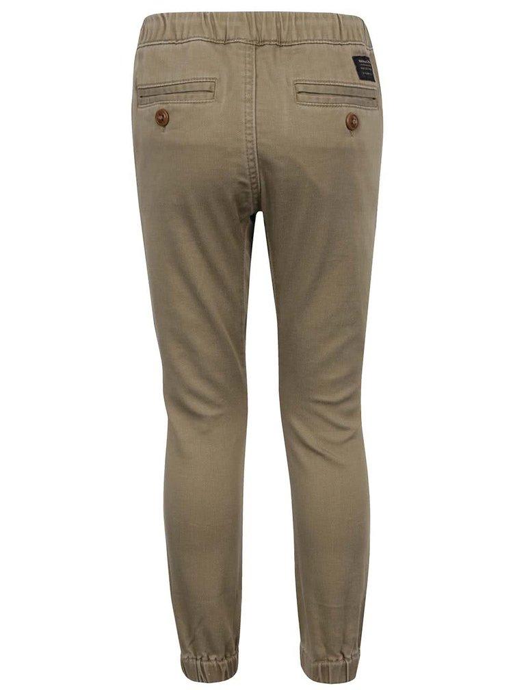 Pantaloni bej Quiksilver pentru băieți