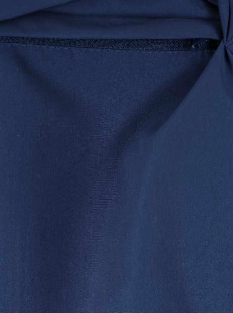 Jacheta albastra subtire Jack & Jones Rowen cu gluga