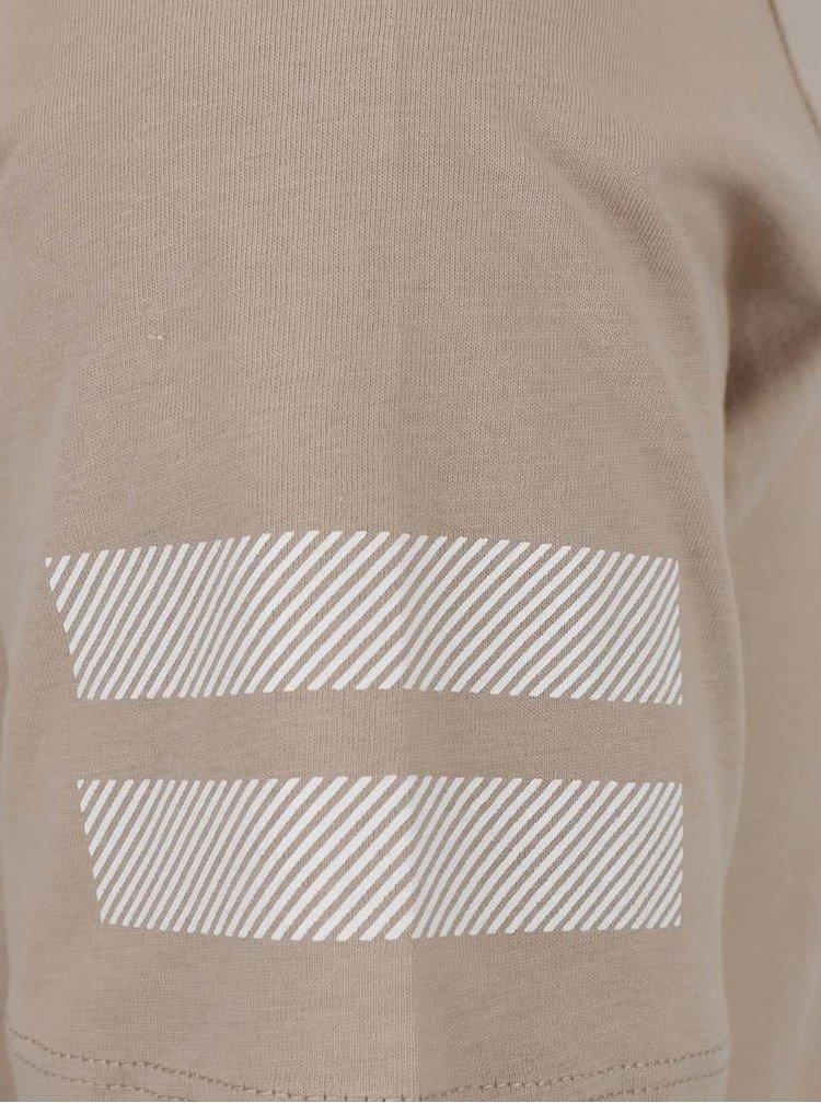 Béžové triko s potiskem Jack & Jones Elke