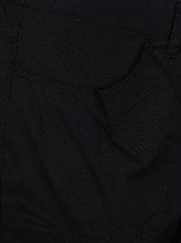 Černé zkrácené kalhoty s kapsami Ulla Popken