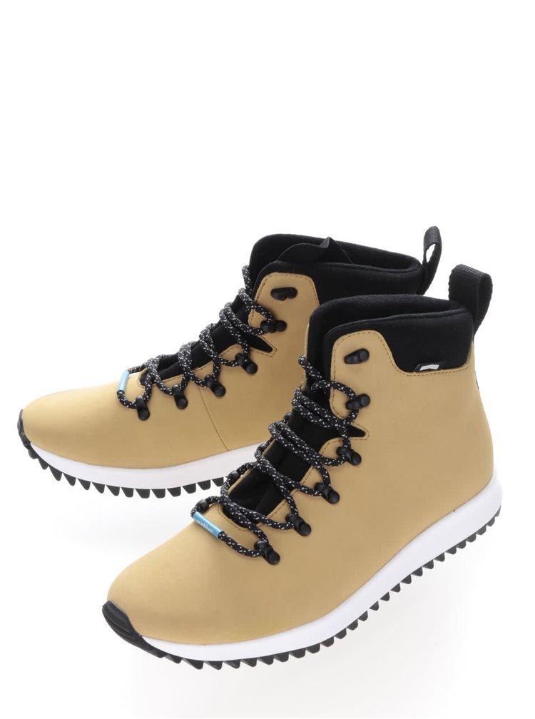 Hnědé pánské kotníkové boty Native AP Apex