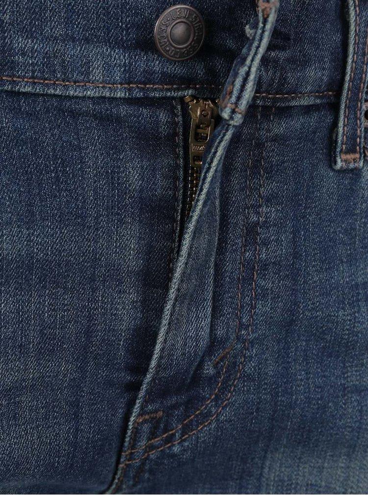 Tmavě modré dámské džínové kraťasy Levi's®