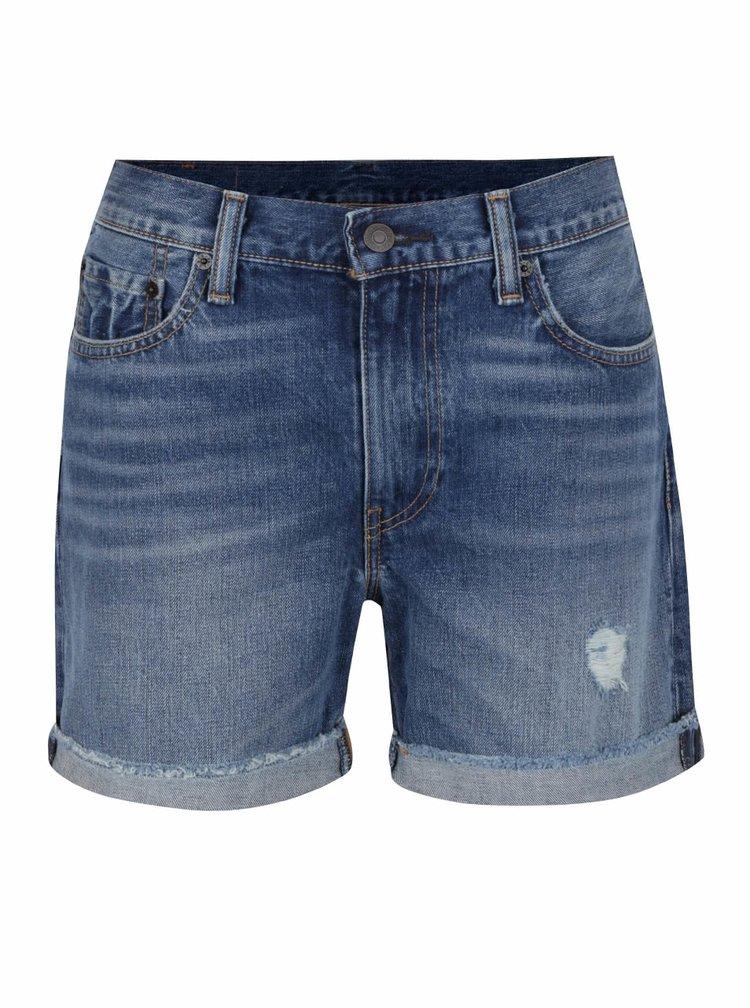 Pantaloni scurți albaștri Levi's® din denim
