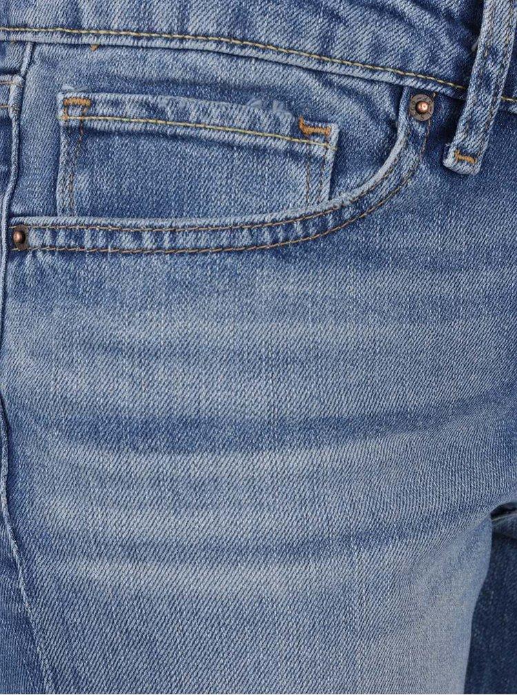 Modré dámské rovné džíny Levi's® 714