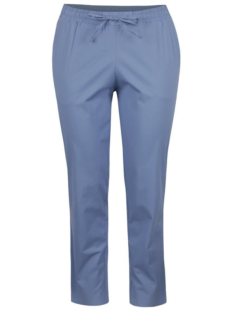 Světle modré kalhoty s kapsami Ulla Popken