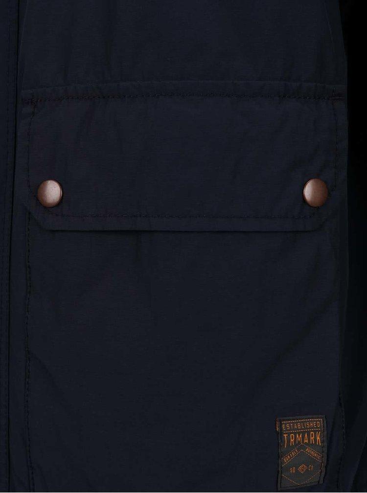 Modrá pánská bunda s.Oliver