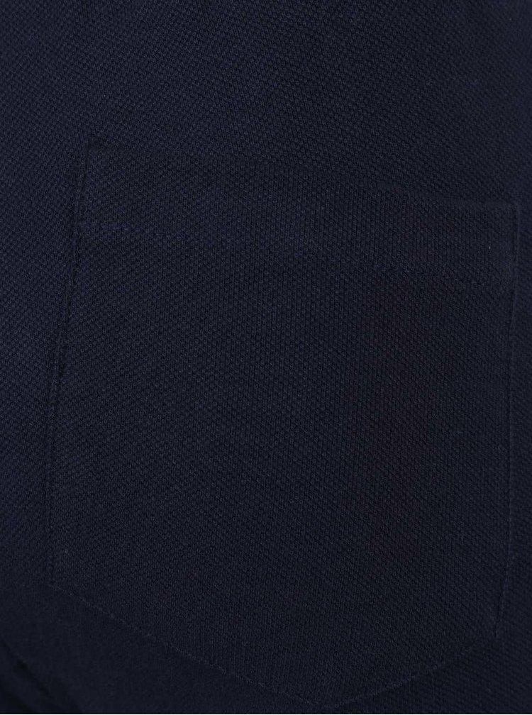 Modré klučičí tepláky s kapsami na zip 5.10.15.