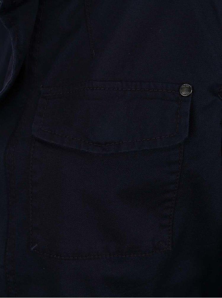 Tmavě modrá dámská bunda s.Oliver