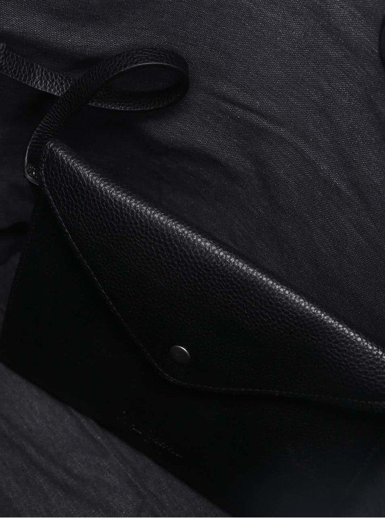 Černý shopper Pepe Jeans Daniela