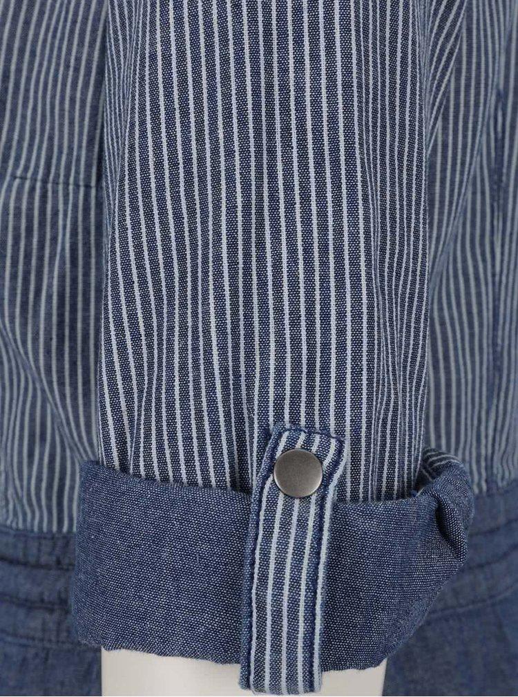 Modré pruhované šaty s.Oliver