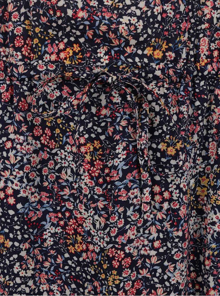 Rochie albastru închis s.Oliver cu model floral