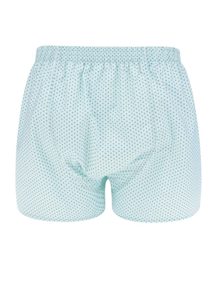 Modré pánské trenýrky s motivem hvězd El.Ka Underwear