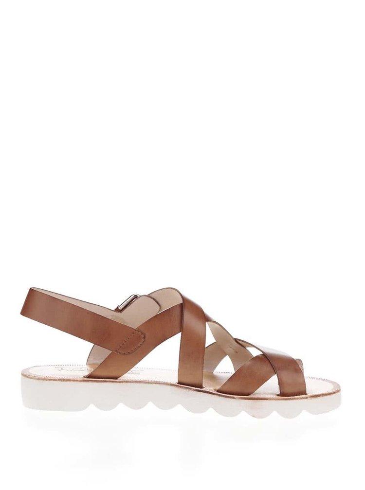 Sandale maro Pikolinos Albufera din piele
