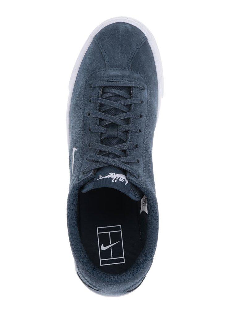 Tmavě modré pánské semišové tenisky Nike Match Classic Suede