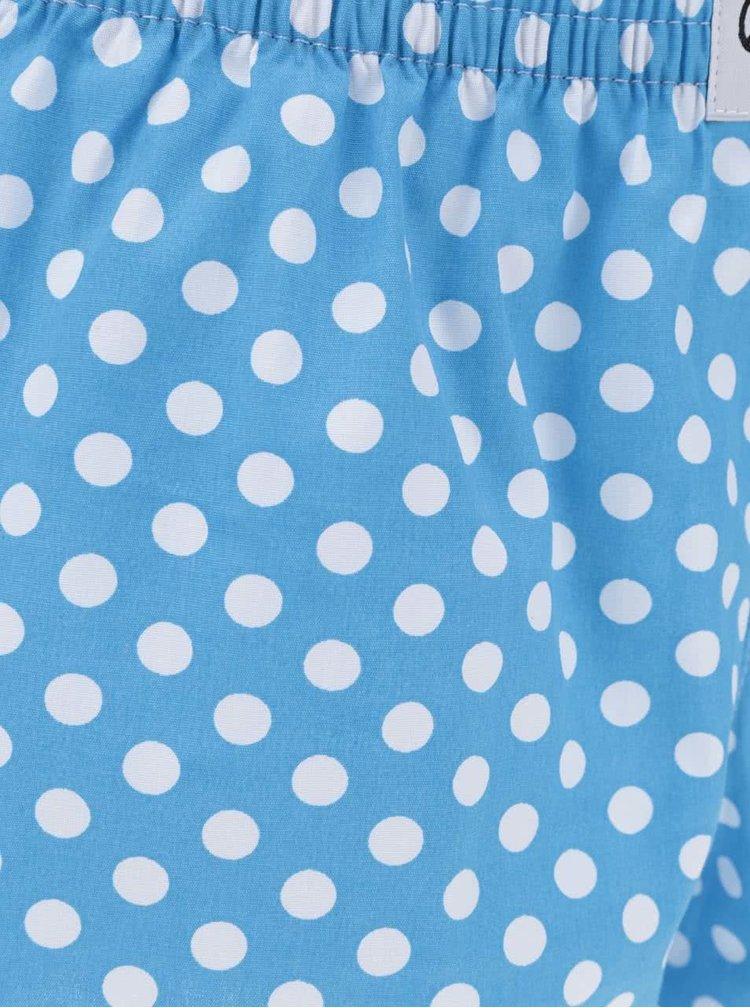Boxeri albaștri cu buline El.Ka Underwear de damă