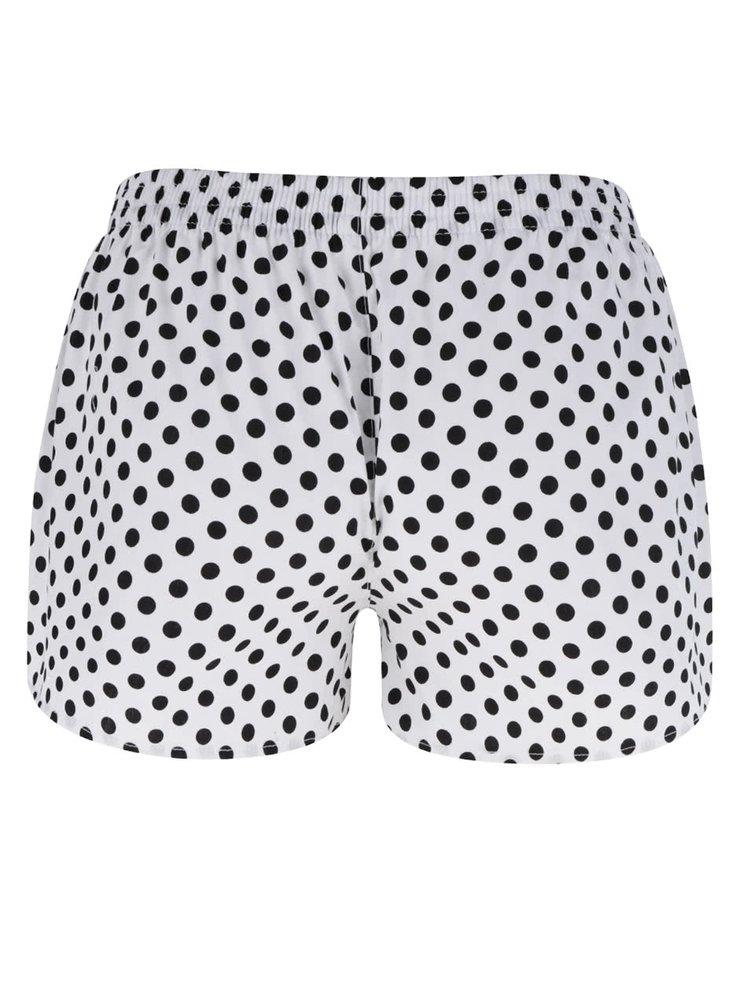 Bílé dámské puntíkované trenýrky El.Ka Underwear