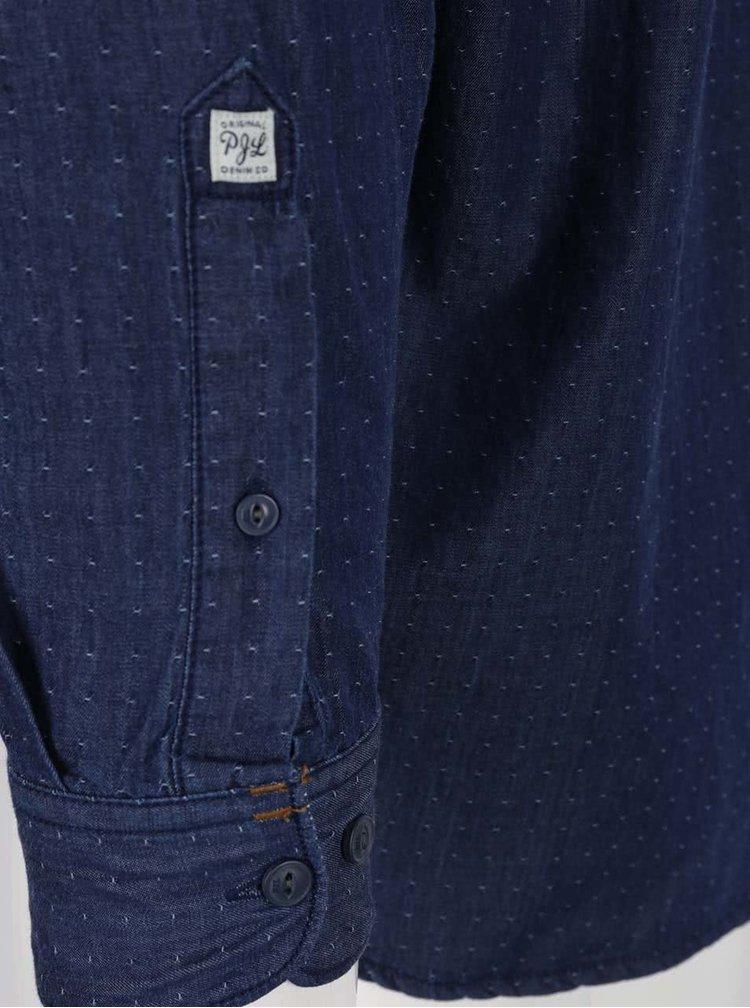 Tmavě modrá pánská košile Pepe Jeans Pagano