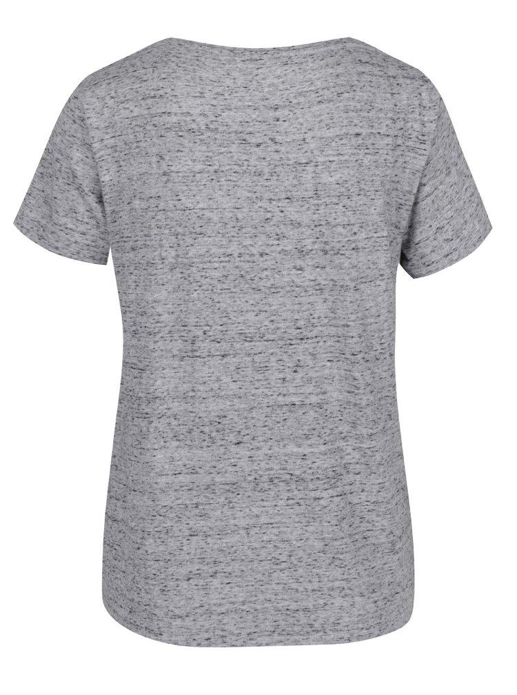 Šedé dámské tričko s nápisem Pepe Jeans Moma