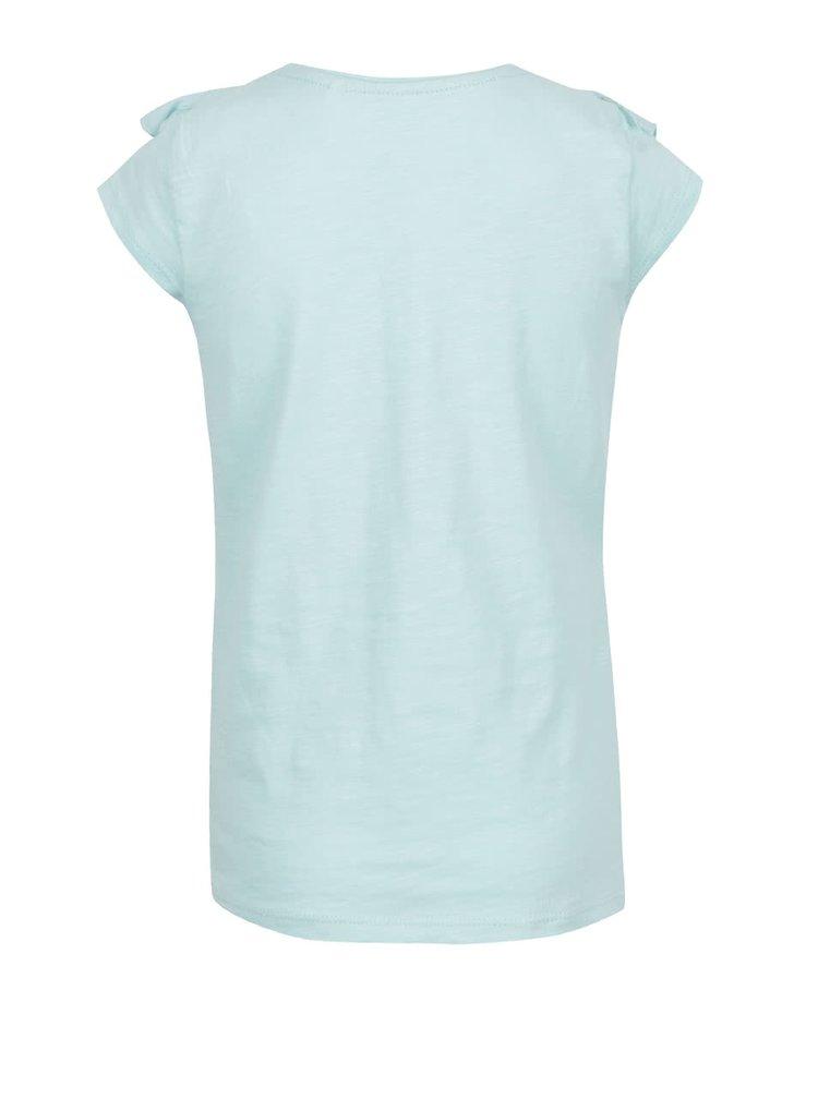 Světle zelené holčičí tričko s motivem vážek 5.10.15.