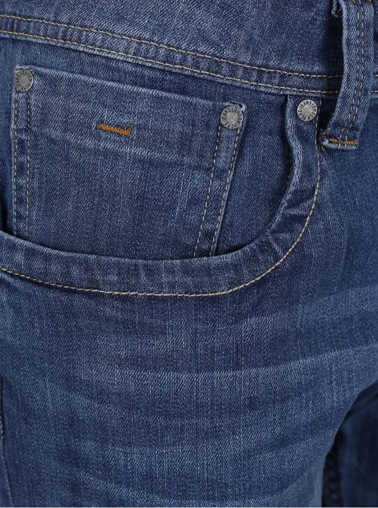 Pantaloni scurti albastru inchis Pepe Jeans Cash din denim