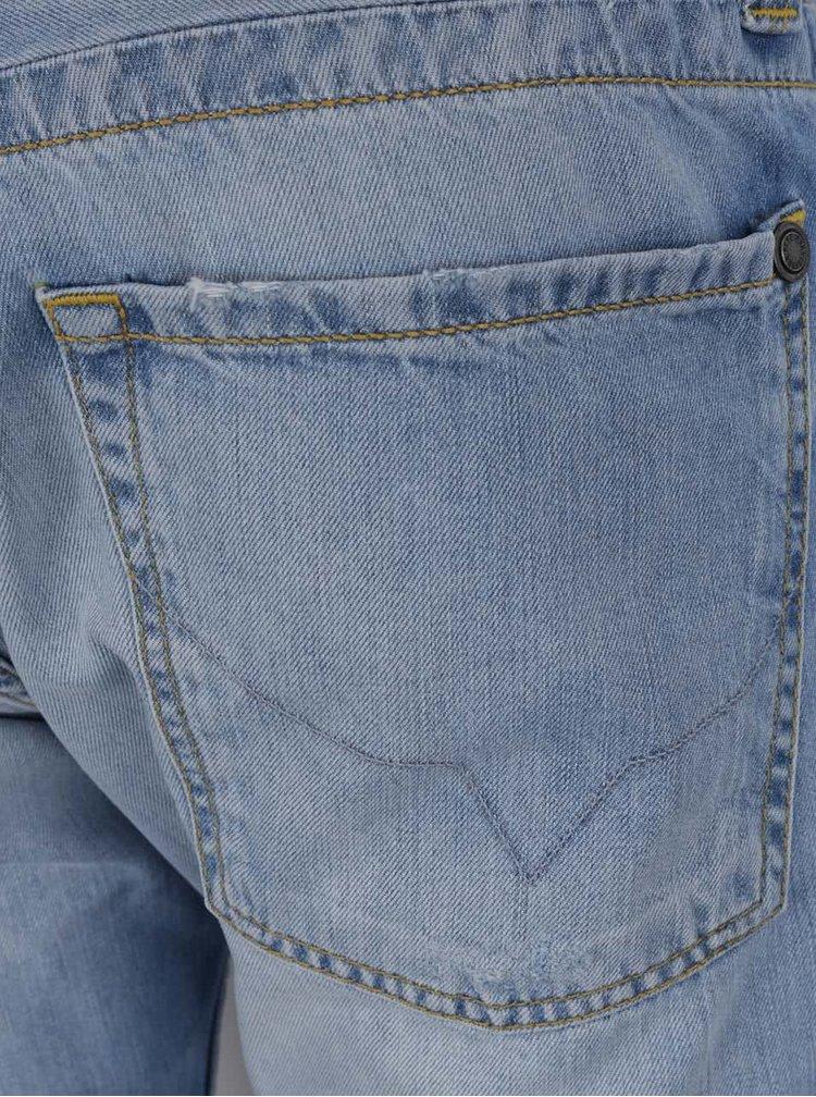 Světle modré pánské džínové kraťasy Pepe Jeans Cash