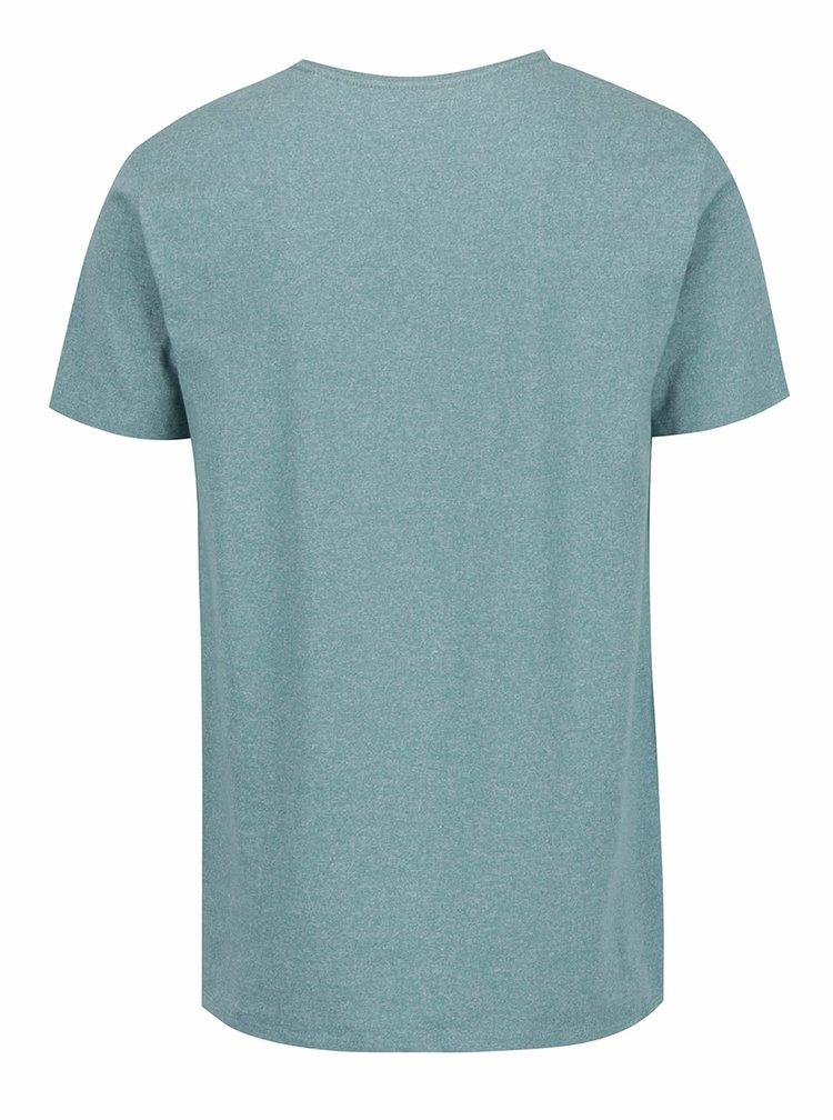 Zelené žíhané triko s krátkým rukávem Lindbergh
