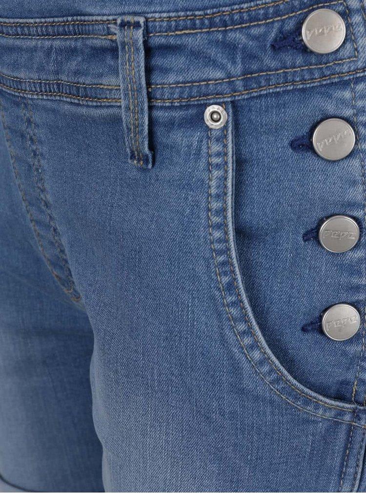 Džínové dámské kraťasy s laclem Pepe Jeans Jessica