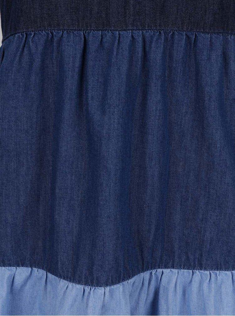 Rochie albastra Pepe Jeans Sky din denim