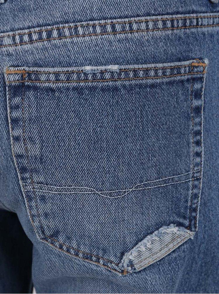 Blugi albaștri  Pepe Jeans Heidi cu aspect uzat
