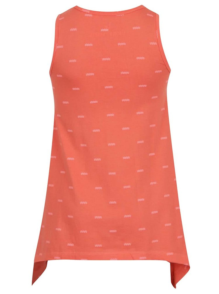 Rochie portocalie 5.10.15. cu print