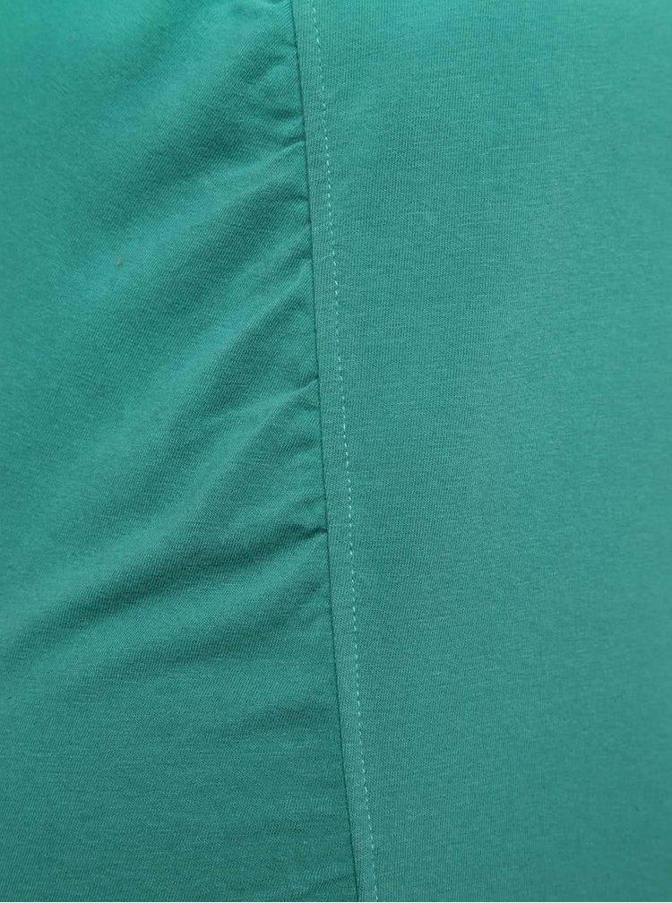Tricou verde Skunkfunk cu efect ombre