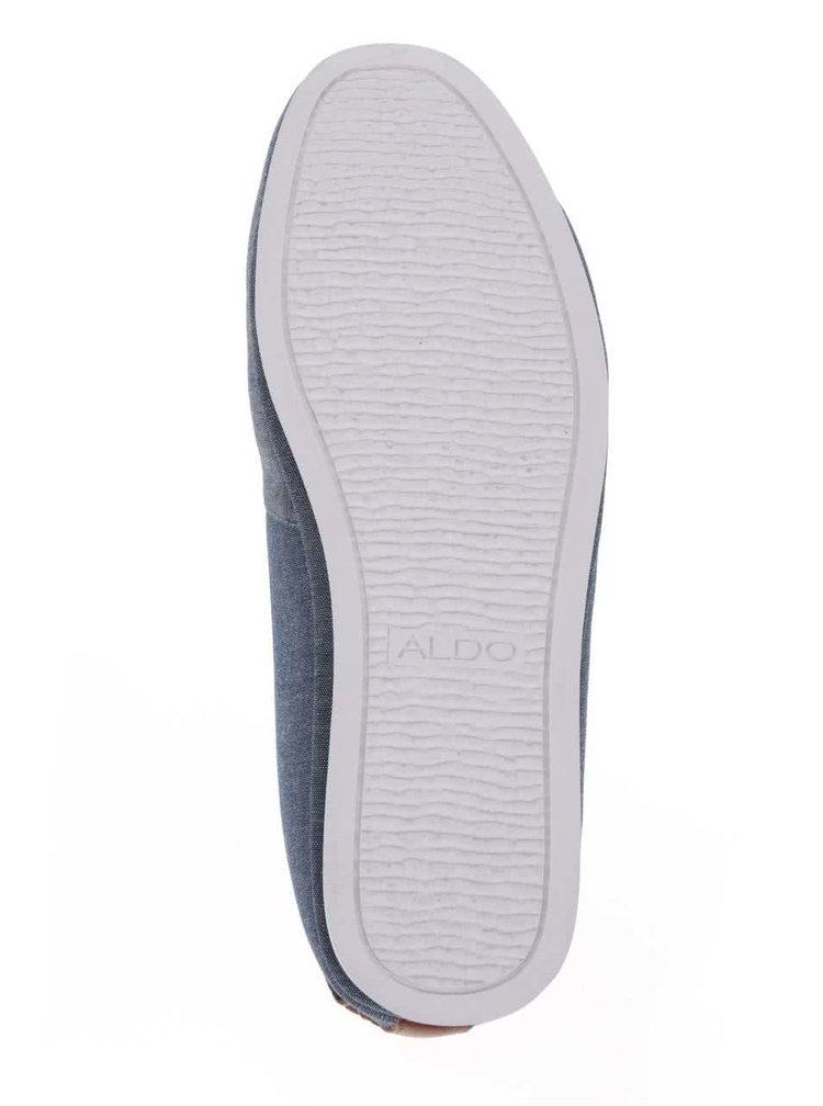 Modré pánské slip on tenisky ALDO Aleng
