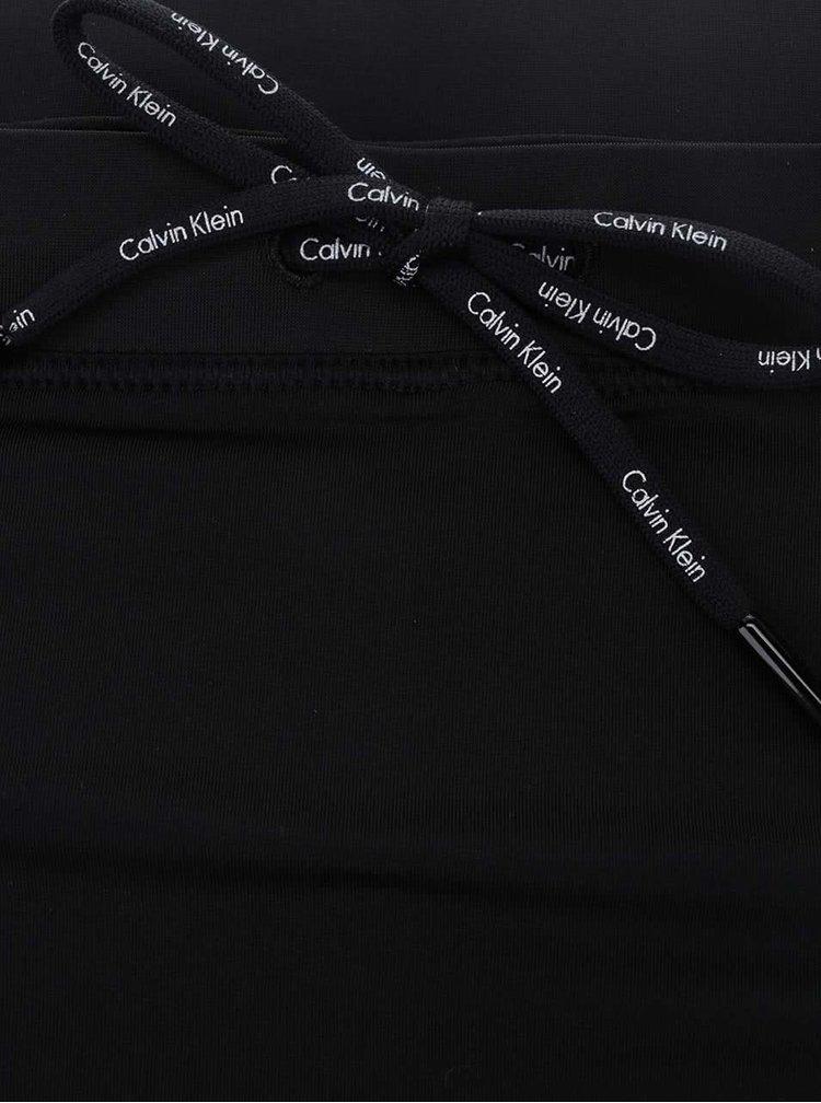 Černé pánské plavky Calvin Klein