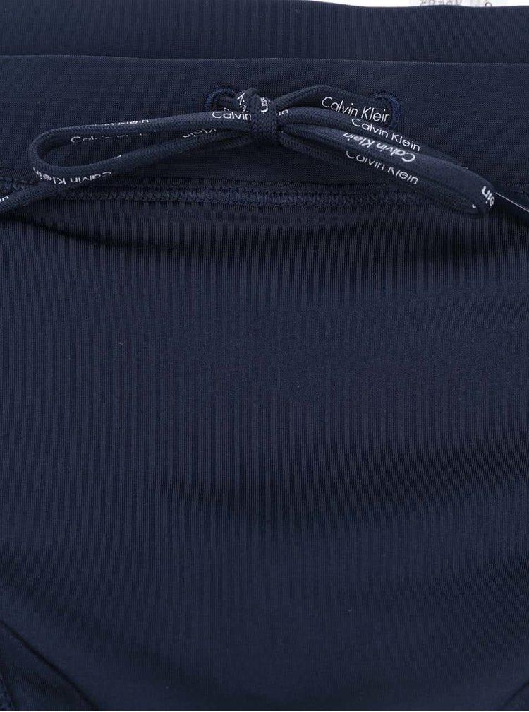 Tmavě modré pánské plavky Calvin Klein