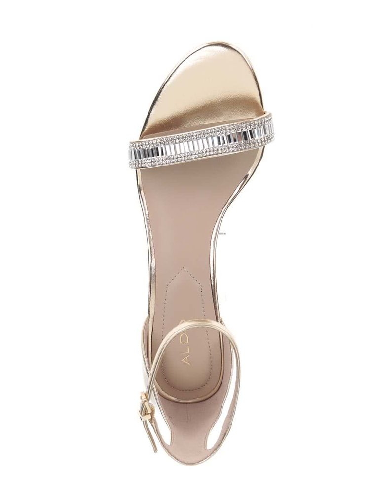 Sandale aurii ALDO Kaylla cu catarama