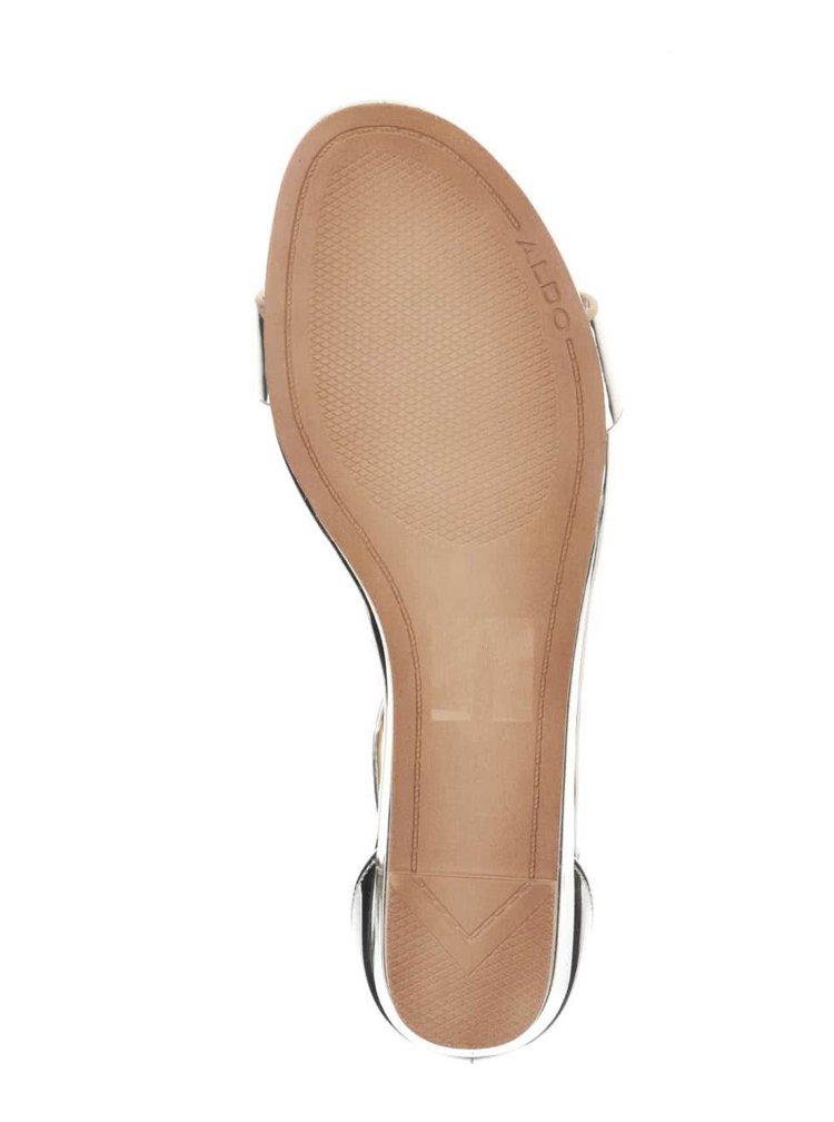 Dámské sandály ve zlaté barvy ALDO Kerina