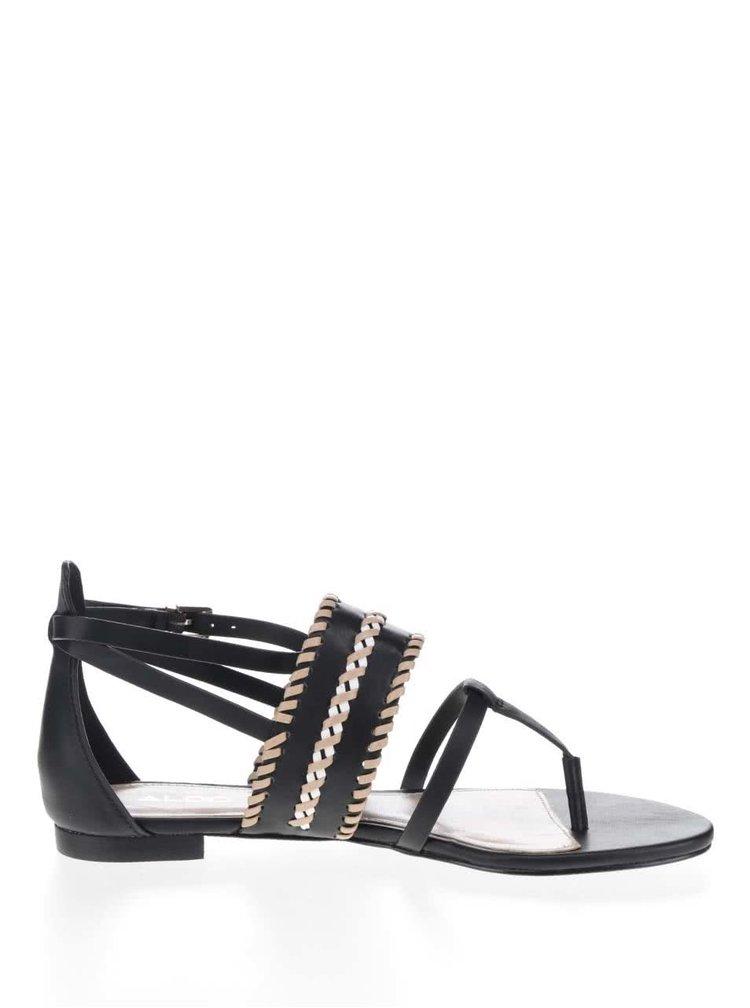 Černé dámské sandály ALDO Nadya