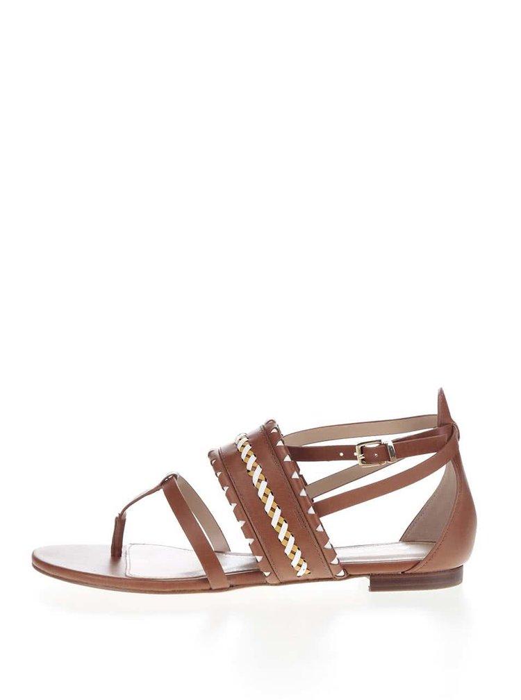 Hnědé dámské sandály ALDO Nadya