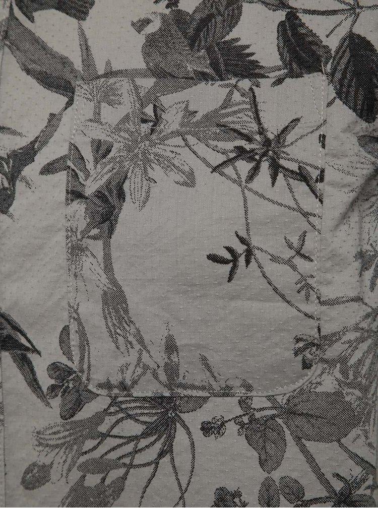 Cămașă gri cu imprimeu ONLY & SONS Cornelius