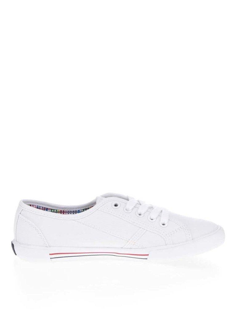Bílé dámské tenisky Pepe Jeans Aberlady Basic