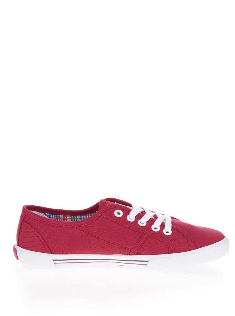 Pantofi sport rosii Pepe Jeans  Aberlady Basic