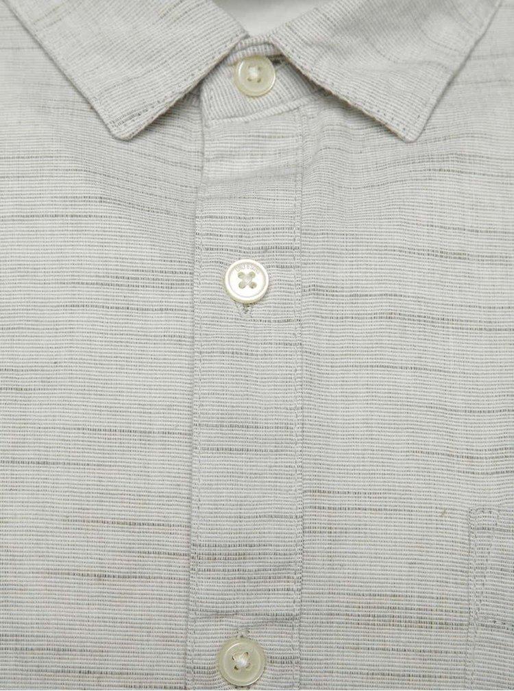 Světle šedá košile ONLY & SONS Carl - Johan