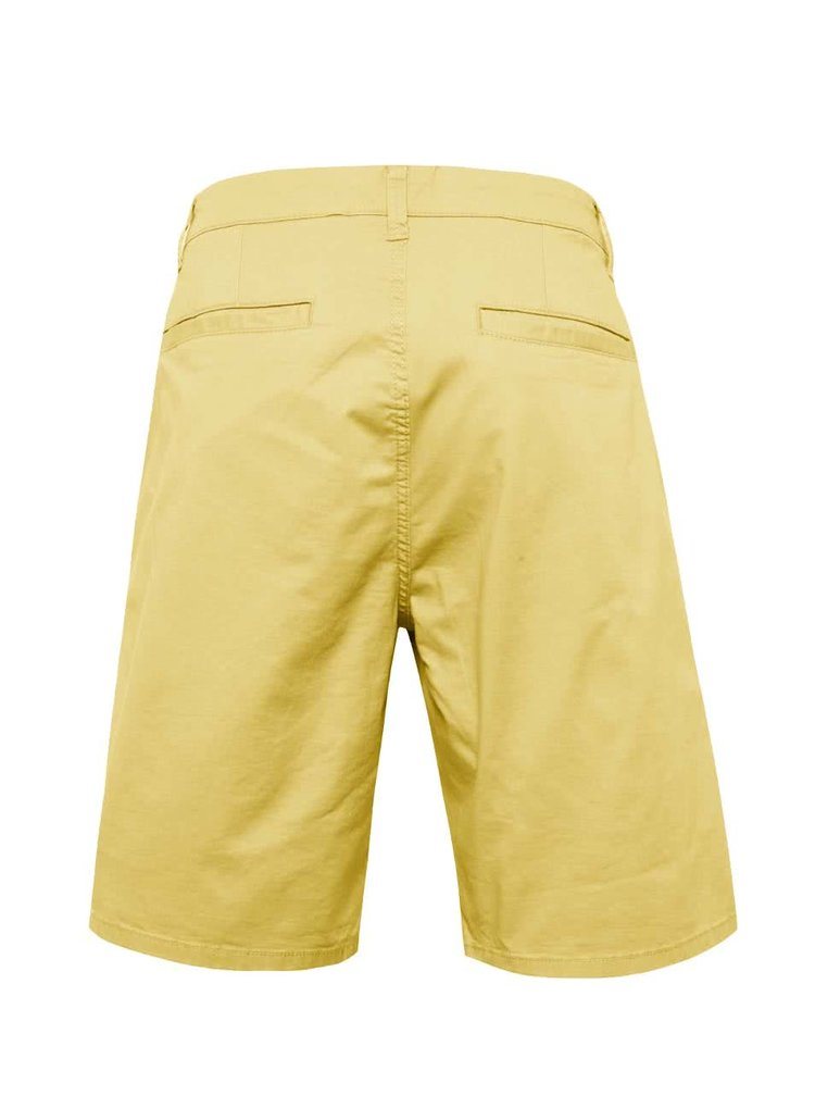 Pantaloni scurti galbeni ONLY & SONS Holm